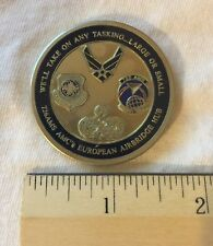 Air Force En Route T-Tail Specialist - Ready Willing And Able - Coin A24
