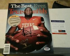 Vince Young Signed  Texas Monthly Magazine PSA DNA Authenticated