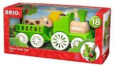 NEW BRIO Farm Train Set