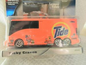 RARE ,New In Box NASCAR Hot Wheels Luxury Rides  #32 Ricky Craven Tide