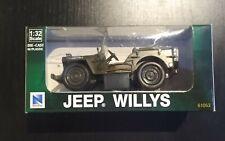 Diecast NewRay willys jeep 61053