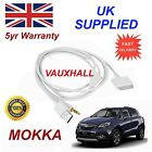 Vauxhall MOKKA Series For Apple iPhone 3GS 4 4s iPhone iPod Audio Cable white