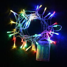 10M 100 LED Christmas Wedding Xmas Tree Party Outdoor Fairy String Light Lamp