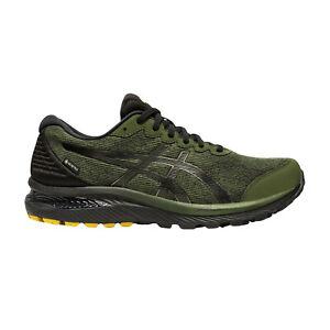 Scarpe running uomo Asics Gel Cumulus 22 G-TX 1011A893-300 Verde-Nera GORETEX