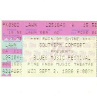 BB KING & DR JOHN & NEVILLE BROTHERS Concert Ticket Stub 9/2/98 CLARKSTON Rare