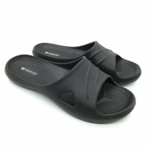 Vertico - Men's V-Spa Shower Sandals | Slide-On and Comfortable Pool-Side Shoes
