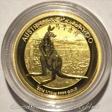 *2014 Kangaroo Chinese Privy 1/10oz Gold Coin Perth Australia $15-Only 3,591*