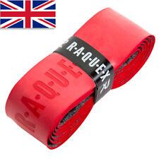 Raquex Red Replacement Racquet Grip Handle - Anti Slip Tennis Squash Badminton