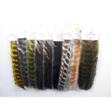 #09 schwarz black Hends CDC Federn 25 Stück selektierte Federn Nr