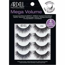 AUTHENTIC!!! Ardell - 4 Pairs - Mega Volume - 252