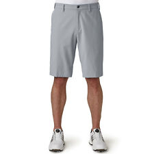 "adidas Golf 2017 Mens Stretch Ultimate Shorts Breathable Water-resistant 30"" Waist Mid Grey"