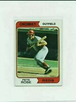 1974 Topps Pete Rose Baseball Card #300 Cincinnati Reds