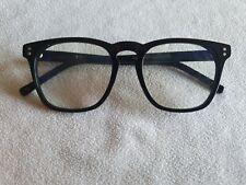Charlie Temple black glasses frames. Stanton.