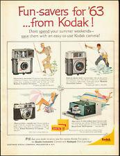 1963-Kodak`Brownie Starmeter Camera`Projector-Vintage Ad (101914)