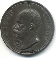 VITTORIO EMANUELE II 1886 PELLEGRINAGGIO TOMBA PANTHEON MEDAGLIA CELEBRATIVA