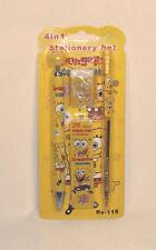 Sponge Bob Back to School 4 in 1 Stationery Set