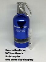^^5ML SAMPLE^^ Connected Reaction By Kenneth Cole Men's Cologne Atomizer Decant