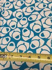 Vintage Peter Pan Fabric Purses Aqua on White Cotton Light Decor Weight 4yd