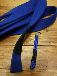 Rank Paracord Keychain Blue Belt martial arts Bjj