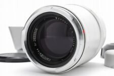 [C Normal] CONTAREX Carl Zeiss Sonnar 135mm f/4 MF Lens Silver From JAPAN Y3550