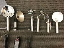Assortment of Vintage Flash Tubes from Speed Gun, Kalart, Kodak and accessories