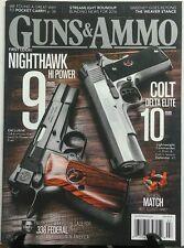 Guns & Ammo July 2016 Nighthawk Hi Power 9mm Colt Delta Elite FREE SHIPPING sb