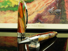 Visconti Van Gogh Pollard Willows Rollerball pen, Resin, Palladium trim, 78445