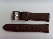 FOSSIL Original Ersatz Lederarmband FS4735 Uhrband watch strap braun brown 22 mm