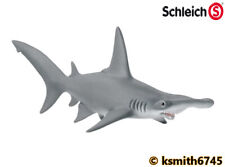 Schleich HAMMERHEAD SHARK plastic toy wild zoo animal marine sea FISH  * NEW 💥