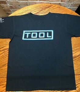 TOOL t-shirt 2010 black tee Large  Summer Tour concert
