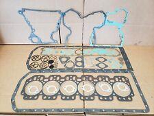John Deere 6329d 6359d 6414t 6059d 6068t Engine Overhaul Gasket Set Re501580