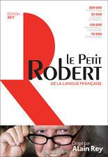 Le Petit Robert 2017  9782321008583