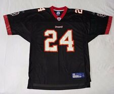 NFL CADILLAC WILLIAMS # 24 TAMPA BAY BUCCANEERS BLACK LARGE FOOTBALL JERSEY