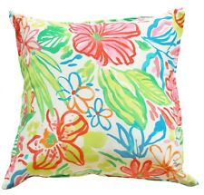 Watercolour Floral Outdoor Indoor Cushion Cover QLD Made Outdoor Fabric