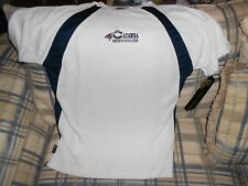 Catawba Indians white soccer  jersey sz L