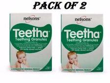 Nelsons Teetha Teething Granules 24 Sachets Pack Of 2