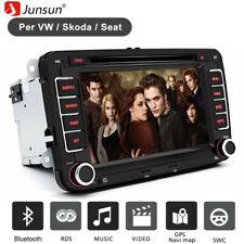 Junsun 7-CEVW-2531 GPS Autoradio avec Bluetooth pour VW - Noir
