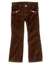 Gymboree Sweet Treats Corduroy Pants Size 12 Brown Winter Girls New