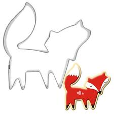 Stainless Fox Shape Cookie Cutter Mold Kitchen Biscuit Treat Snack Bake Tool W