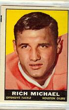 1961 TOPPS # 143 RICH MICHAEL NICE CARD