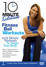 10 MINUTE SOLUTION - FITNESS BALL WORKOUTS - DVD - REGION 2 UK