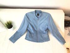 Taifun Damen Blazer Jacke Gr. 42 blau