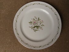 "Romance Diamond China 7 3/4"" DESSERT/SALAD PLATE   Made in Japan Trim is Faint"
