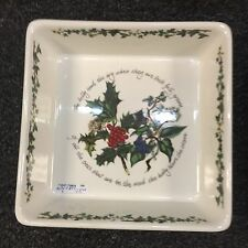 "Port Meirion ""The Holly & The Ivy"" Square Oven Proof Baking Dish  PRICE CUT!"