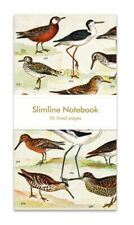 Slimline Notebook Design English Wading Birds Museums and Galleries Collection