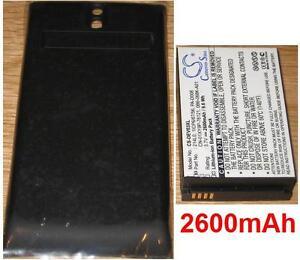 Coque + Batterie 2600mAh Pour DELL V03B, Venue, 0B6-068K-A01 1ICP6/67/56 214L0