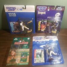 Lot of 4 Vintage MLB Dodgers Figures with cards new in box Starting lineup