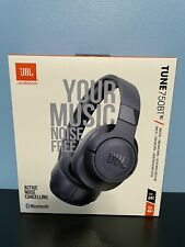 New listing Brand New Jbl Tune 750Btnc Noise-Canceling Wireless Over The Ear Headset - Blue