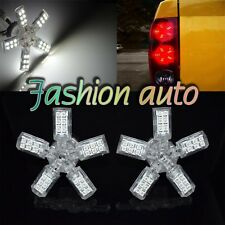 2X 40 SMD LED BULB 5 ARMS SPIDER WHITE LIGHTS TAIL LAMPS SIDE MARKER 3157 4057 J