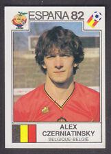 Panini españa 82 Copa del Mundo - # 216 Alex czerniatinsky-Belgique